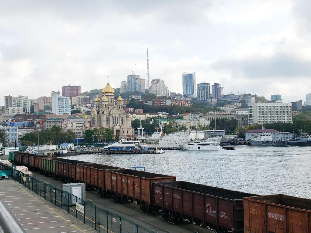 Vladivostok from Train Station