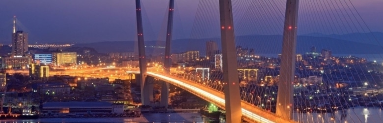 Vladivostok Russian Bridge