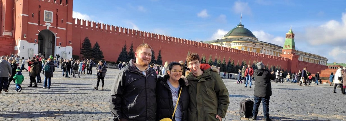 Virtual excursions study russian abroad
