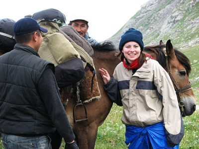 SRAS programs in Kyrgyzstan make use of that country's location in Central Asia, a culturally rich, diplomatically significant region to present Central Asian Studies. We've also not forgotten Kyrgyzstan's extensive natural beauty, offering students a Kyrgyz Summer Adventure in the mountains.